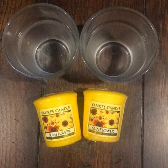 COPY - Yankee Candle Sunflower Votives